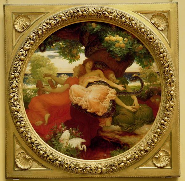Onceavo trabajo de Heracles: sacar las manzanas del jardín de las Hespérides