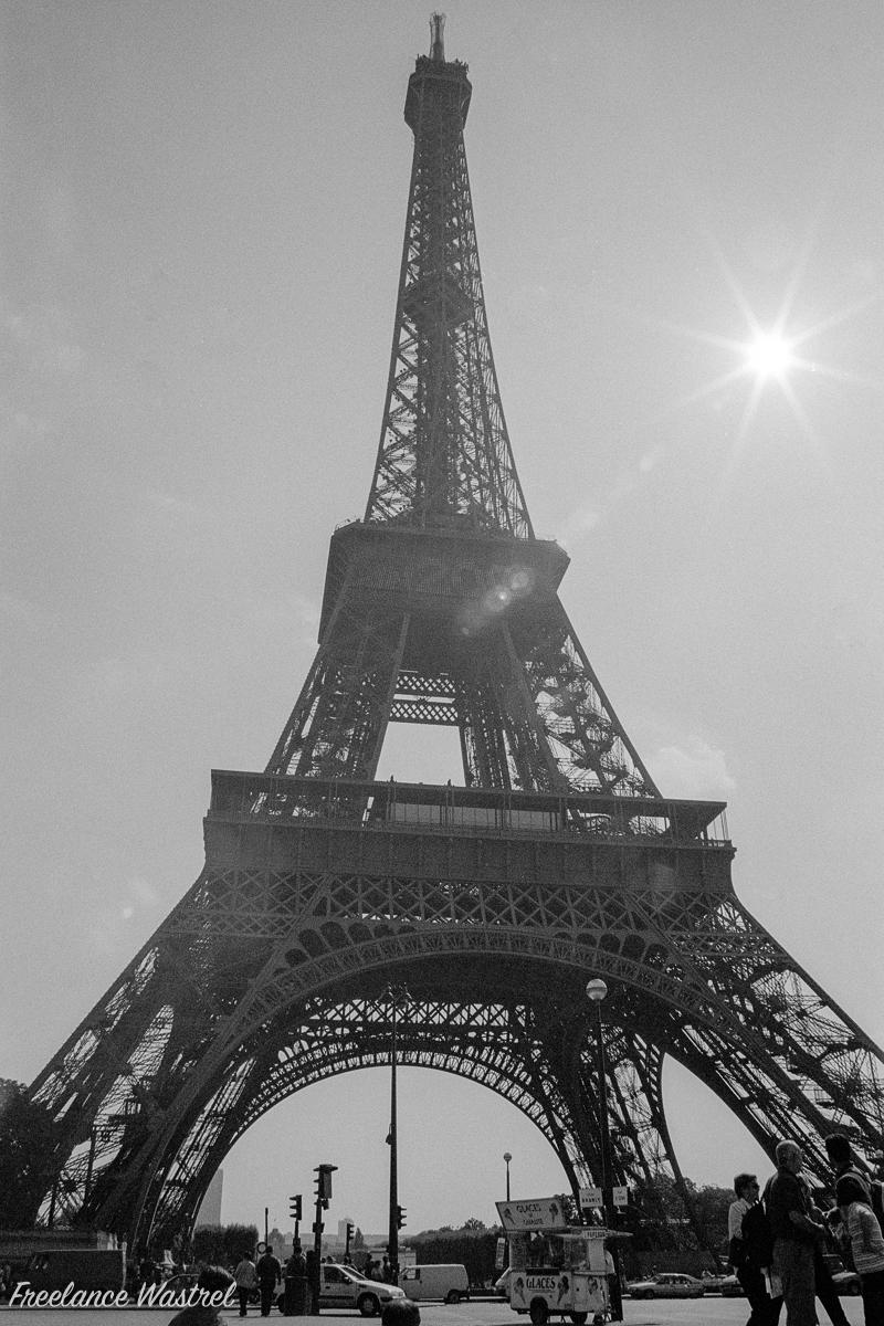 La tour Eiffel, September 2000