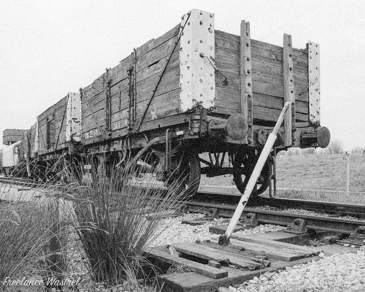 Condemned Coal Wagons, February 1998