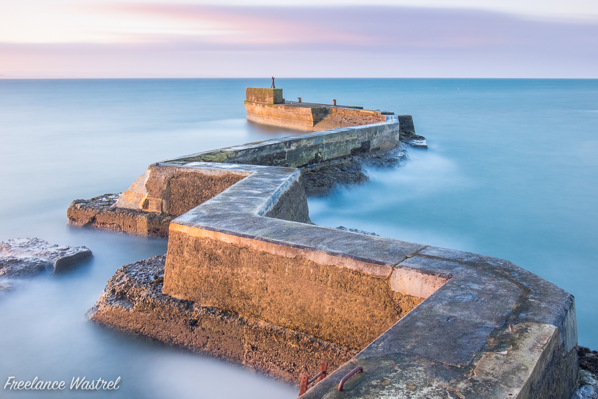 St Monans Pier, October 2017