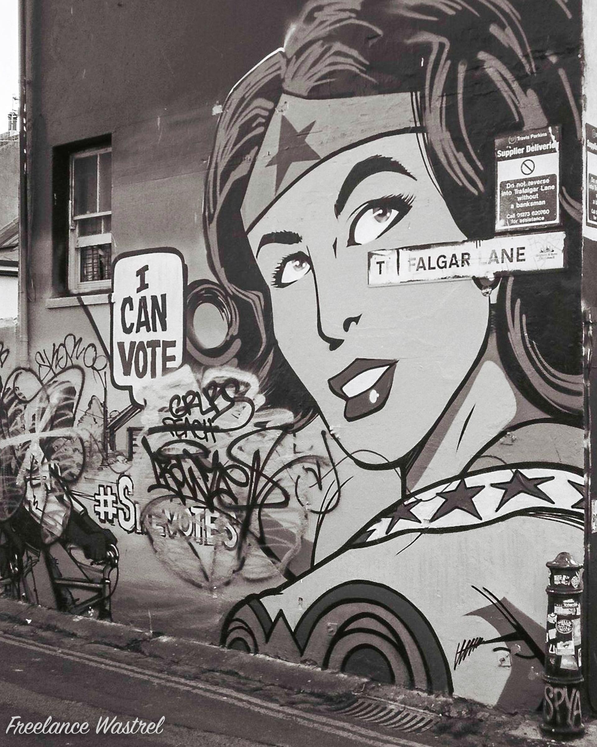 I Can Vote, Brighton, November 2017
