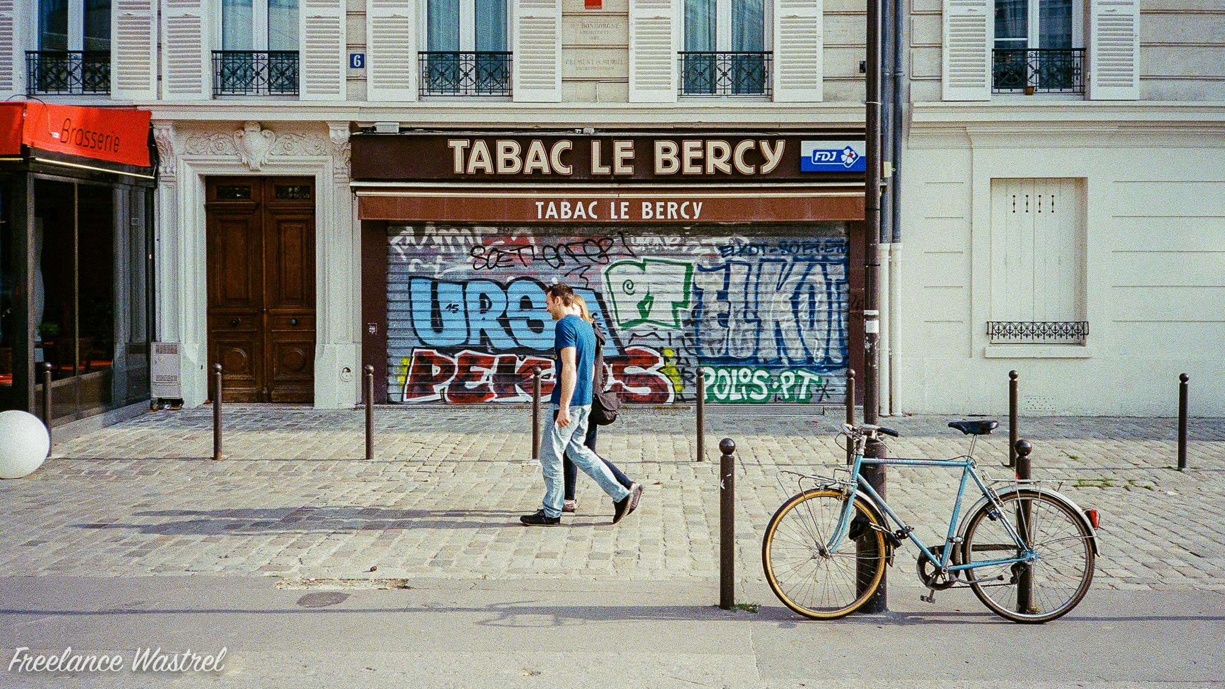 Tabac Le Bercy, August 2016