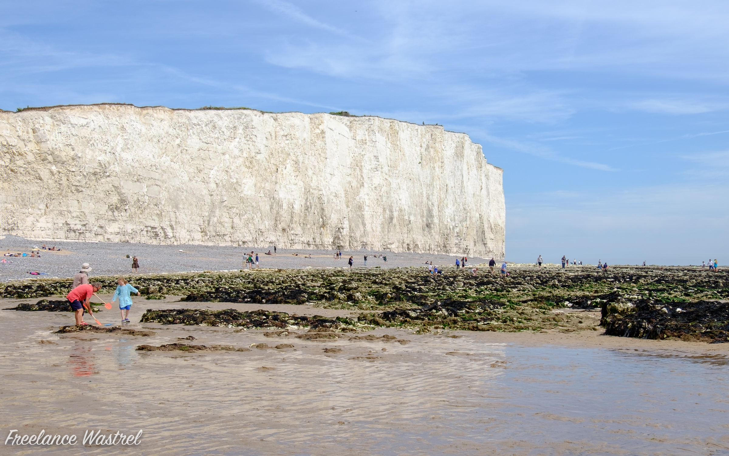 White cliffs from Birling Gap, East Sussex