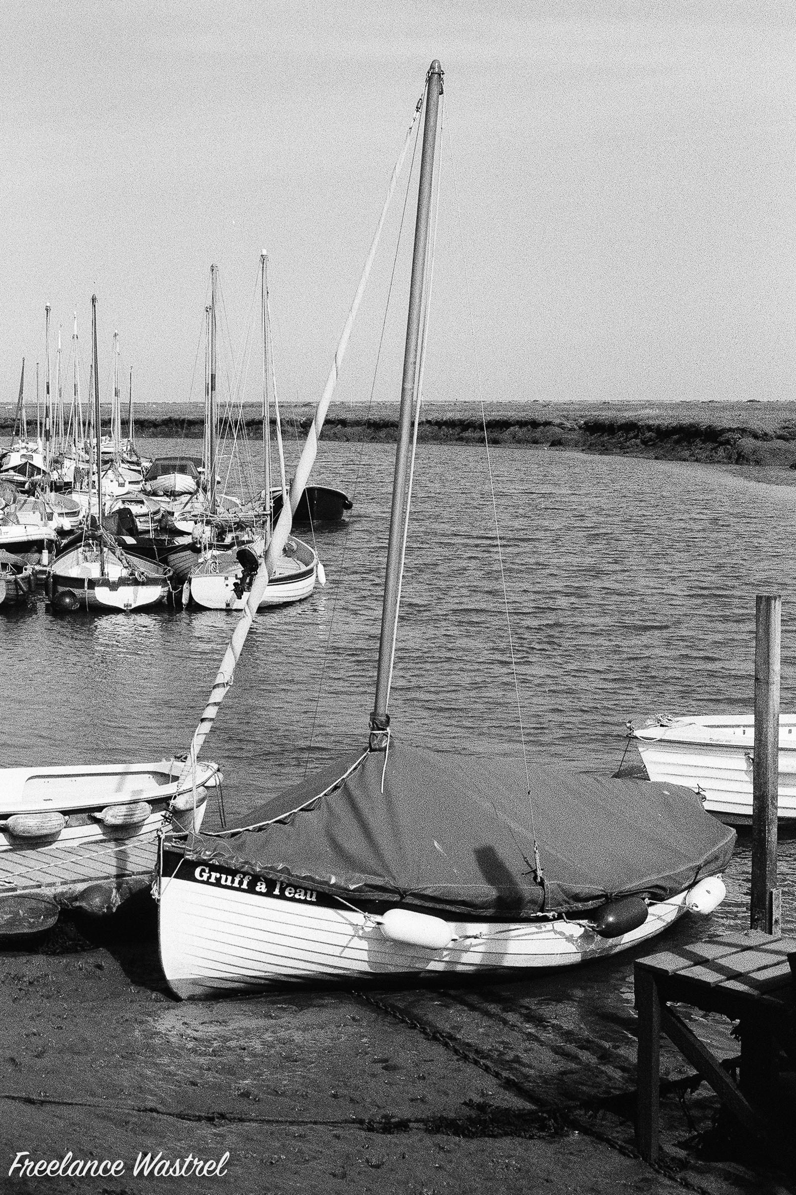 Gruff à l'eau, Morston Quay