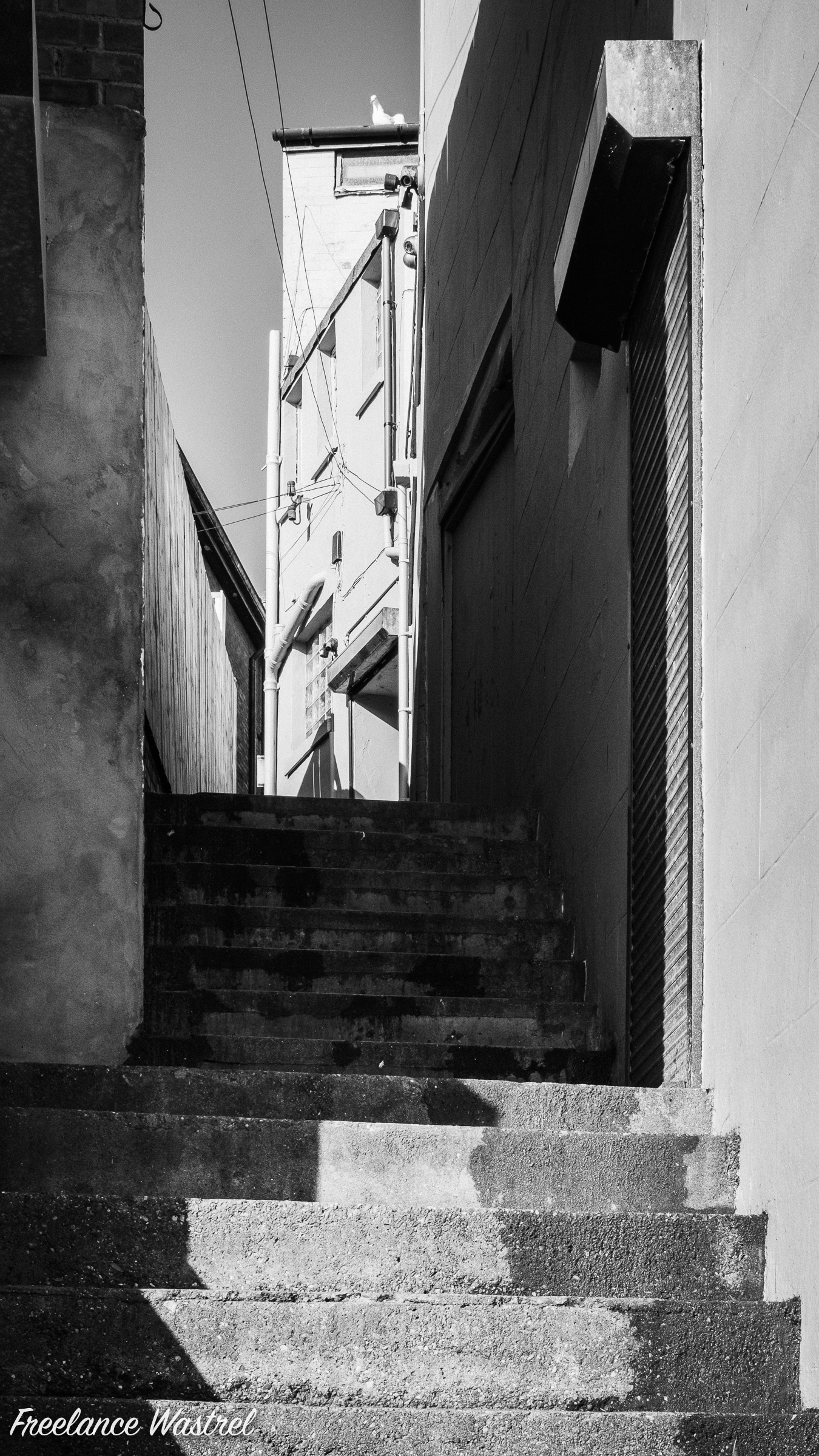 Staircase, Harbour Road, Bridlington