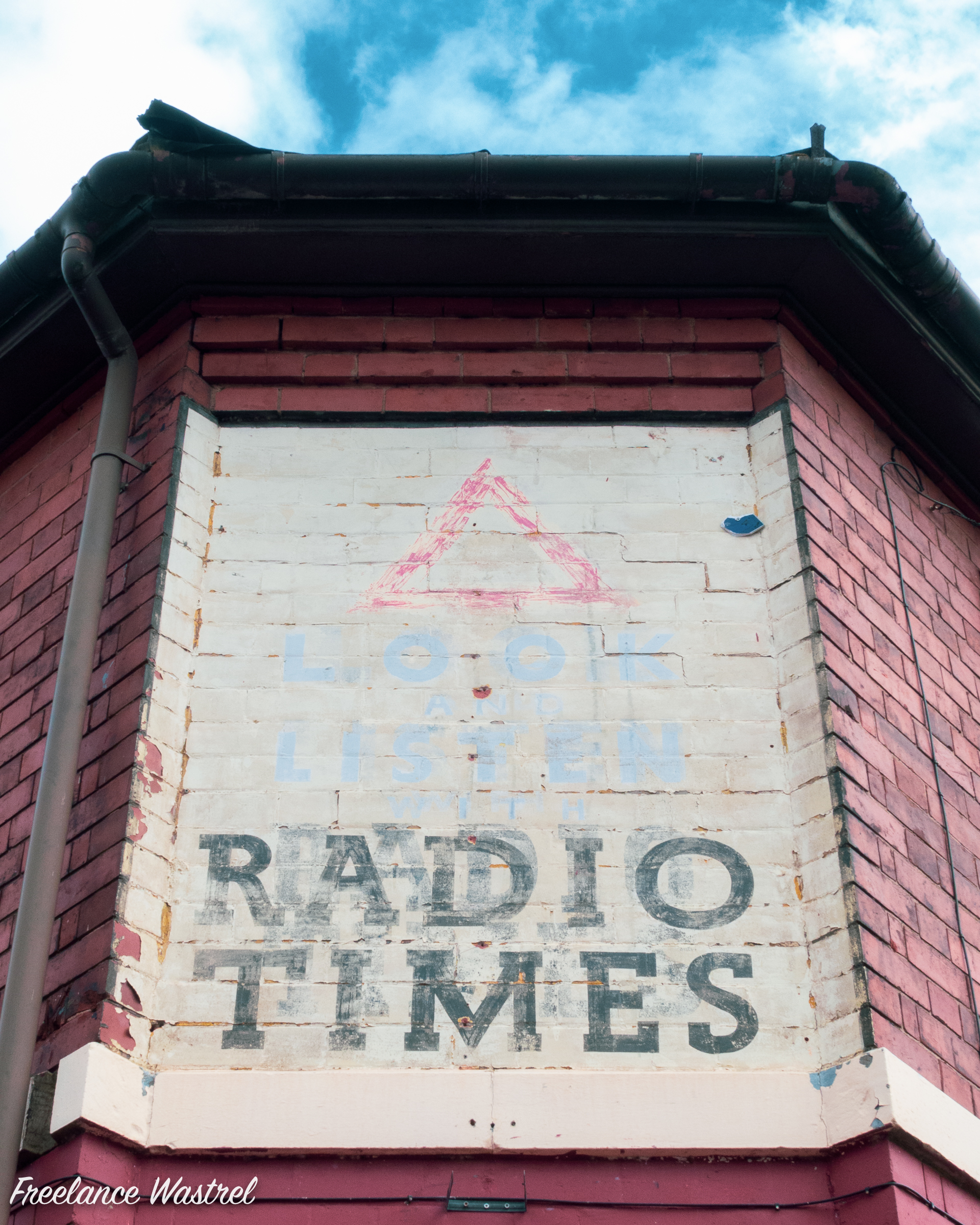 HRadio Times 'ghost' sign, Derby