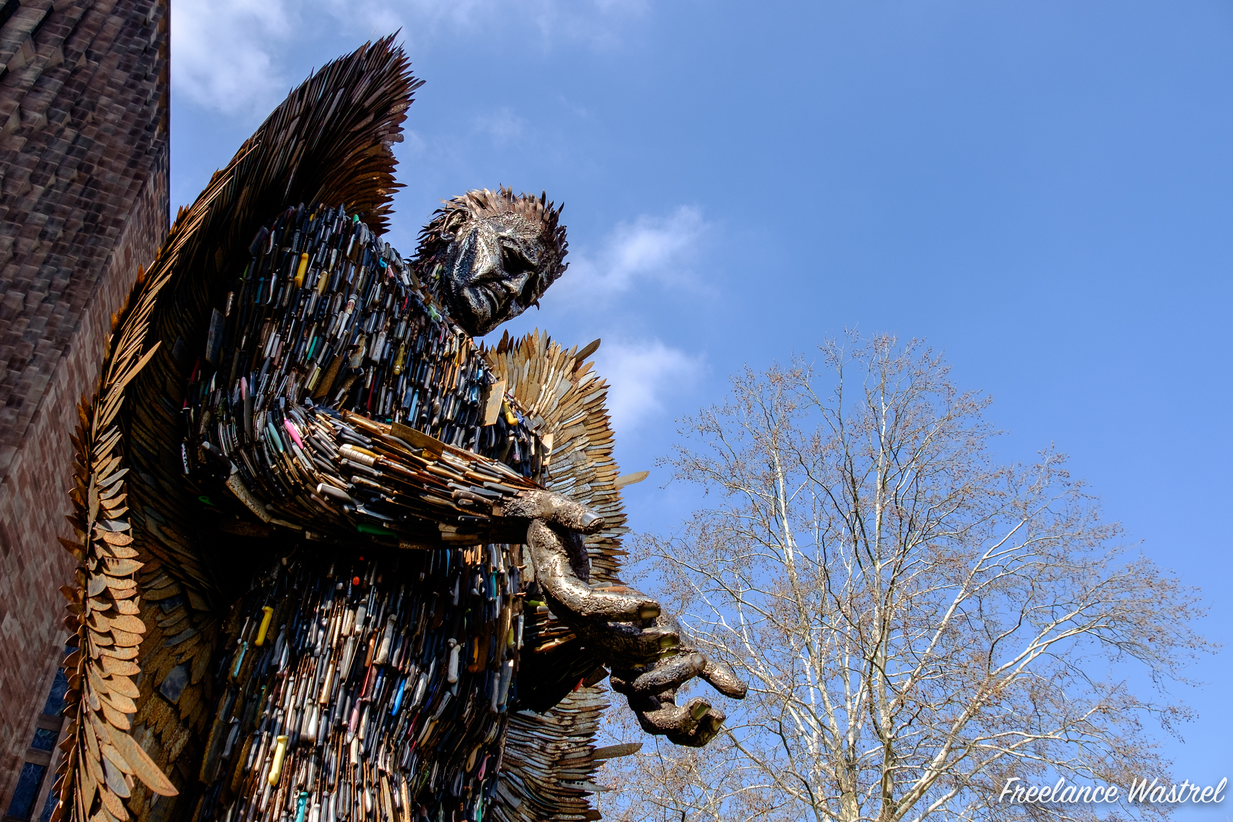 Knife Angel, Coventry