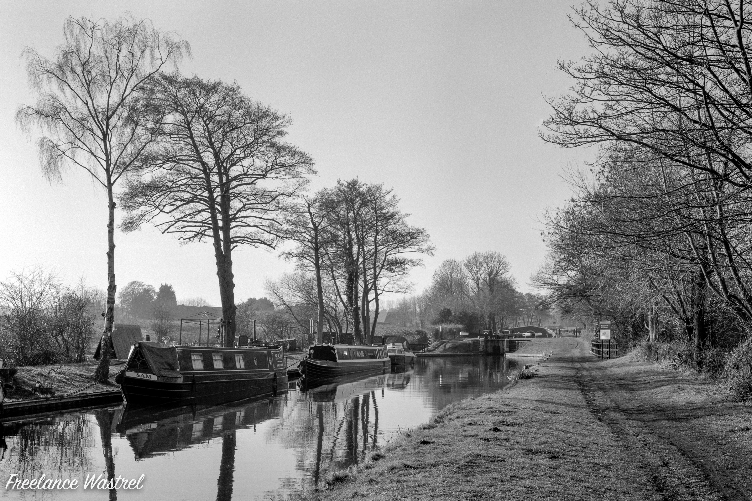 Narrow boats, Keepers Lock