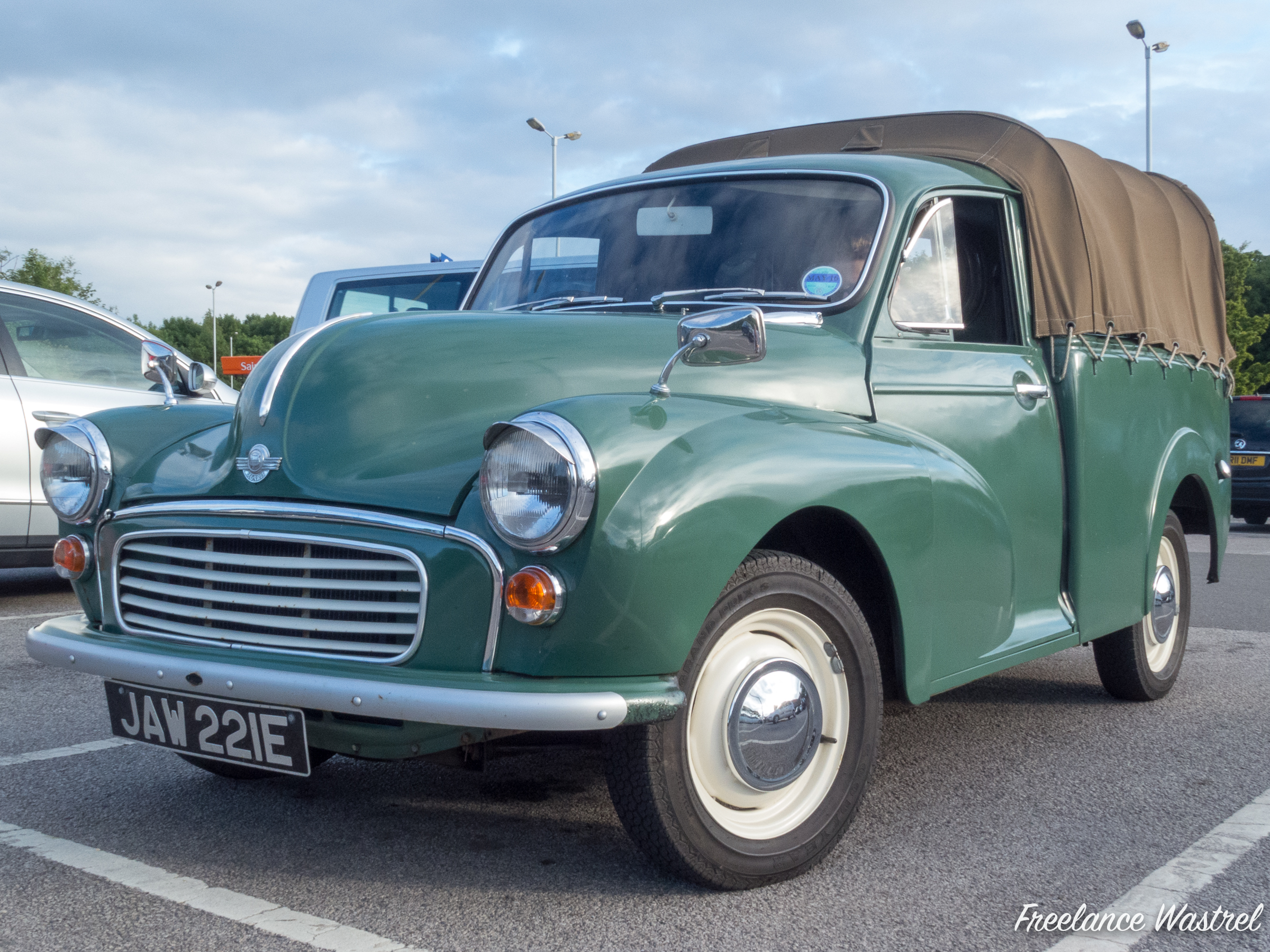 Morris 6cwt pickup, Ripley, June 2015