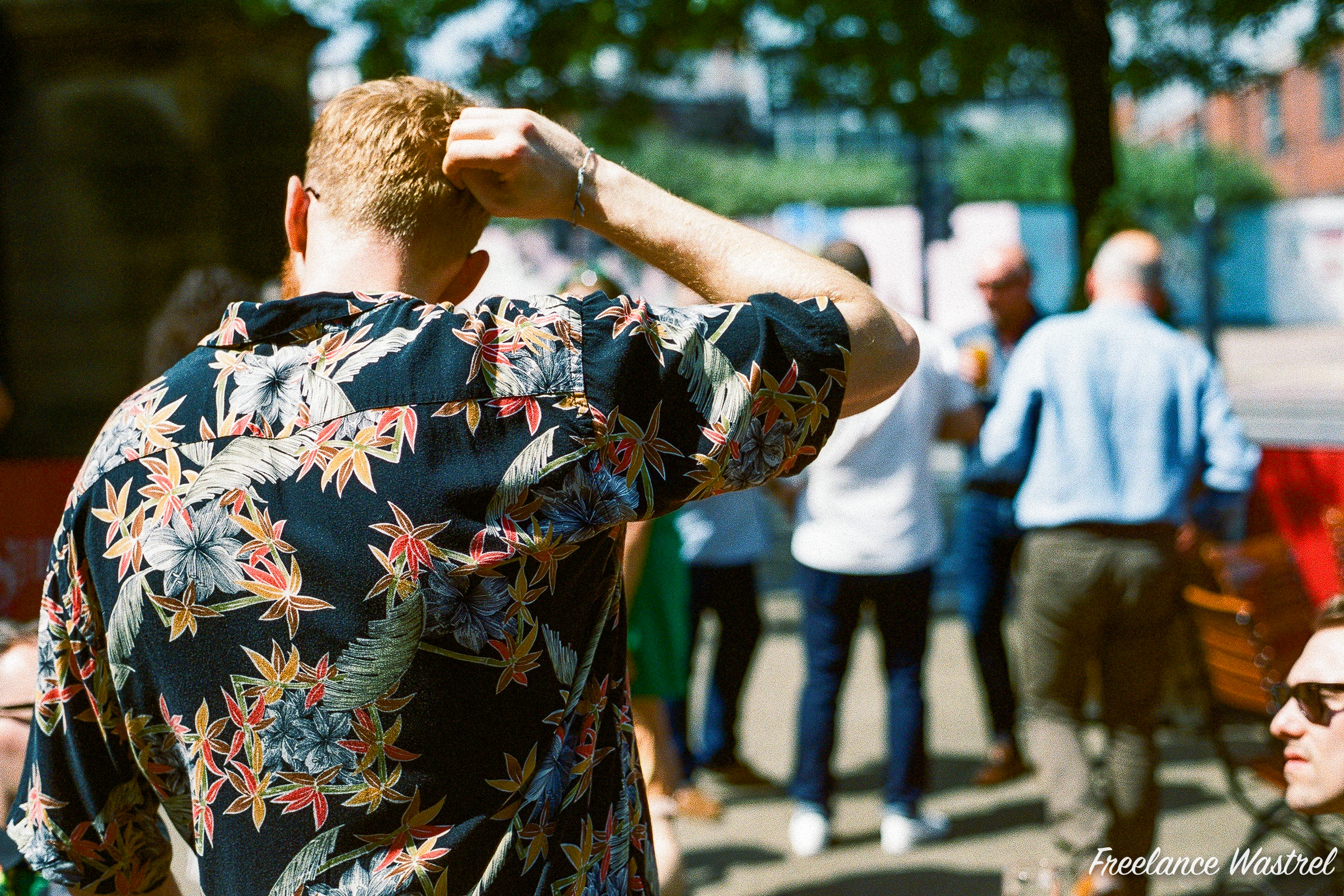 Hawaiian shirt, Sheffield, June 2019