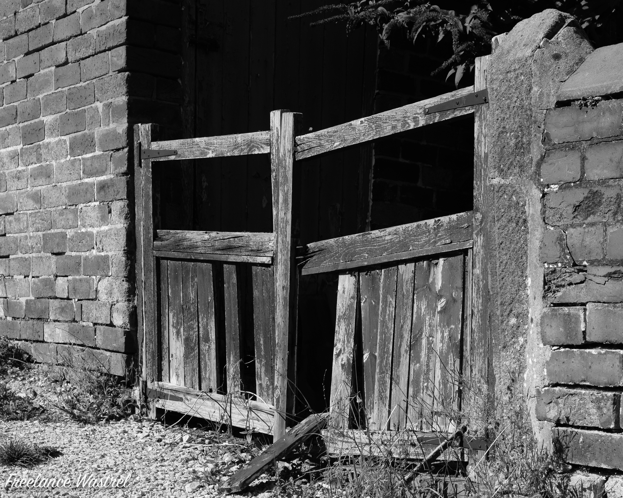 Gated but dilapidated…