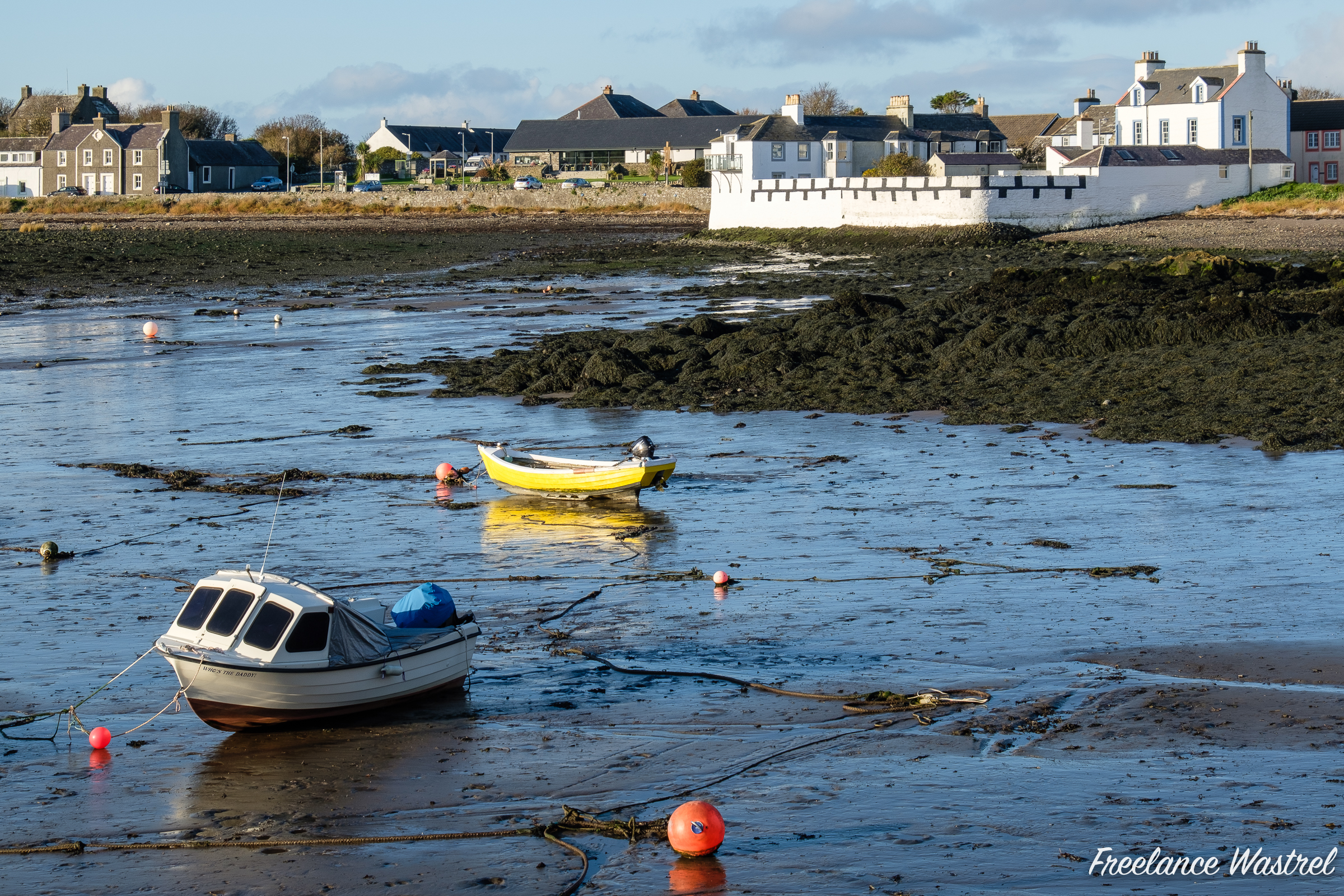 Low tide, Isle of Whithorn