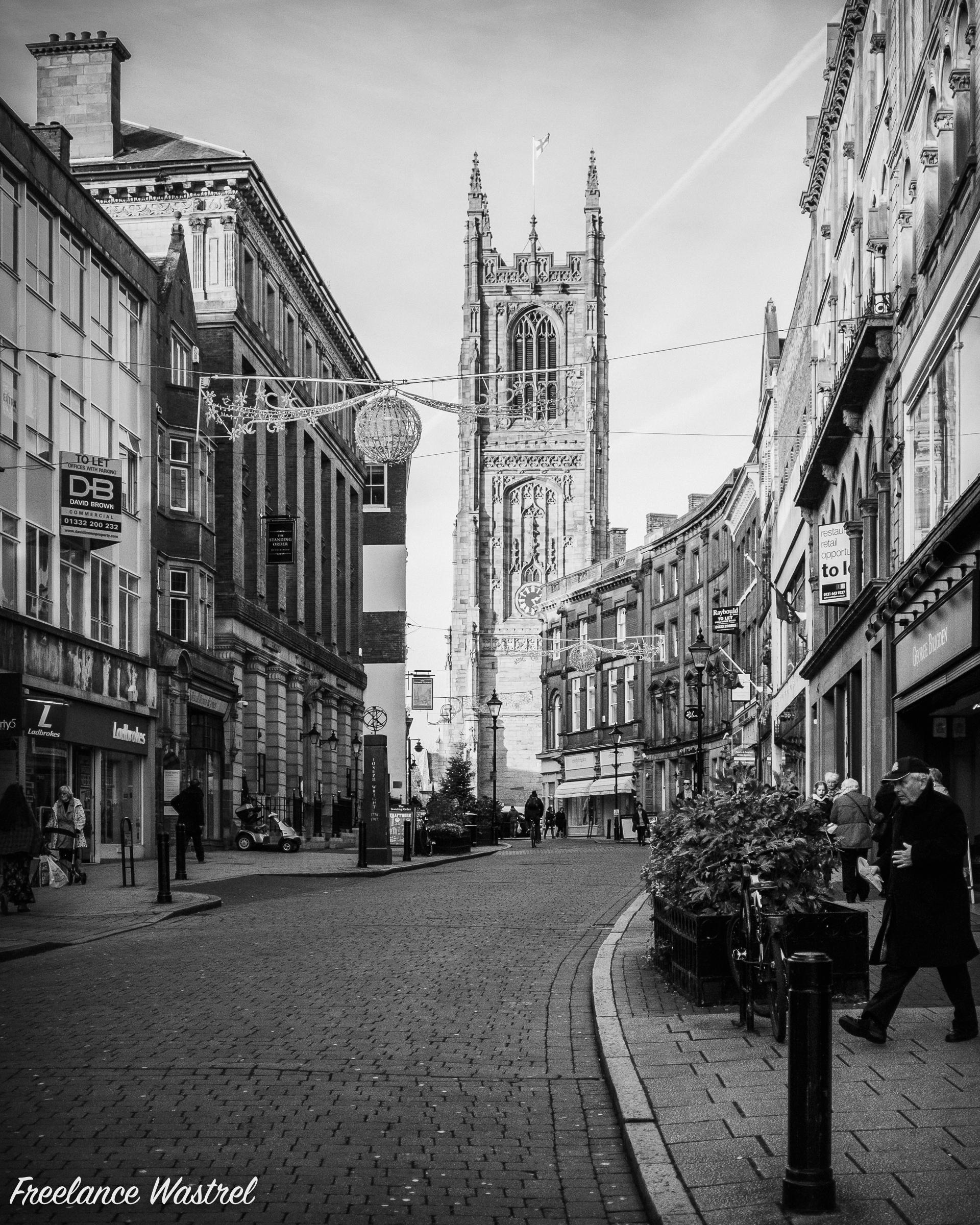 Derby Cathedral, November 2015
