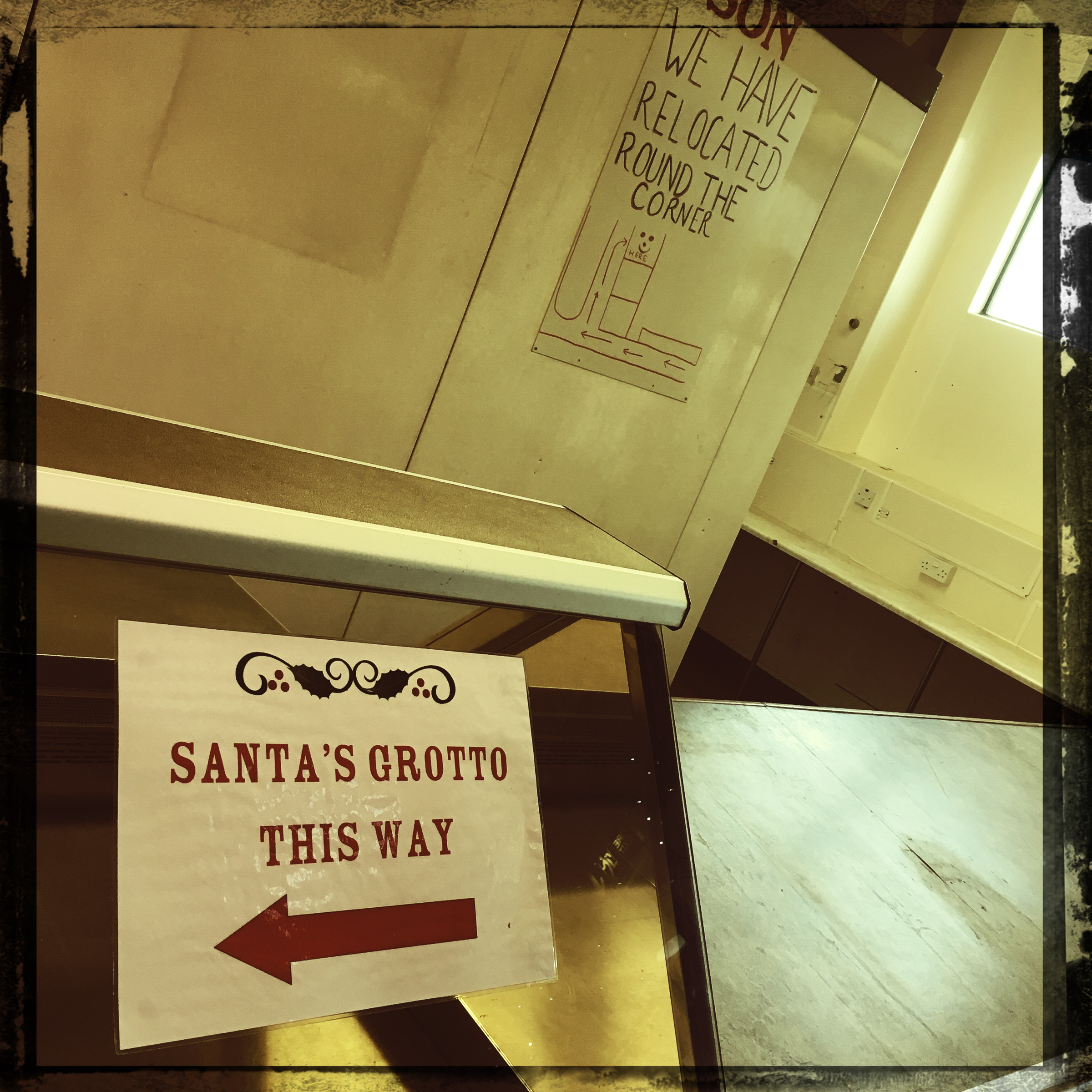 Santa's Grotto This Way