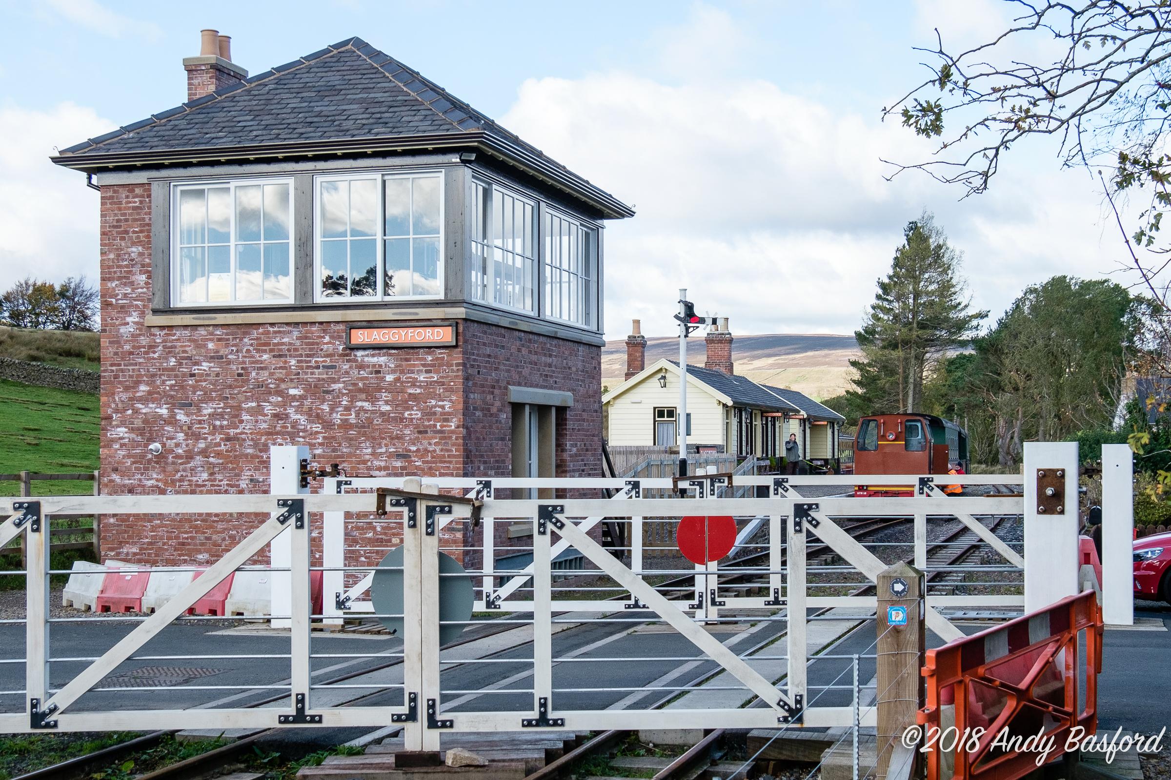 Slaggyford Signal Box-20181026