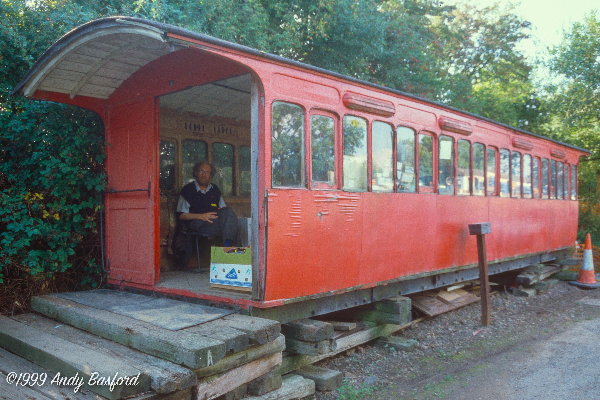 Great Eastern Railway bogie tramcar No.7-19990829