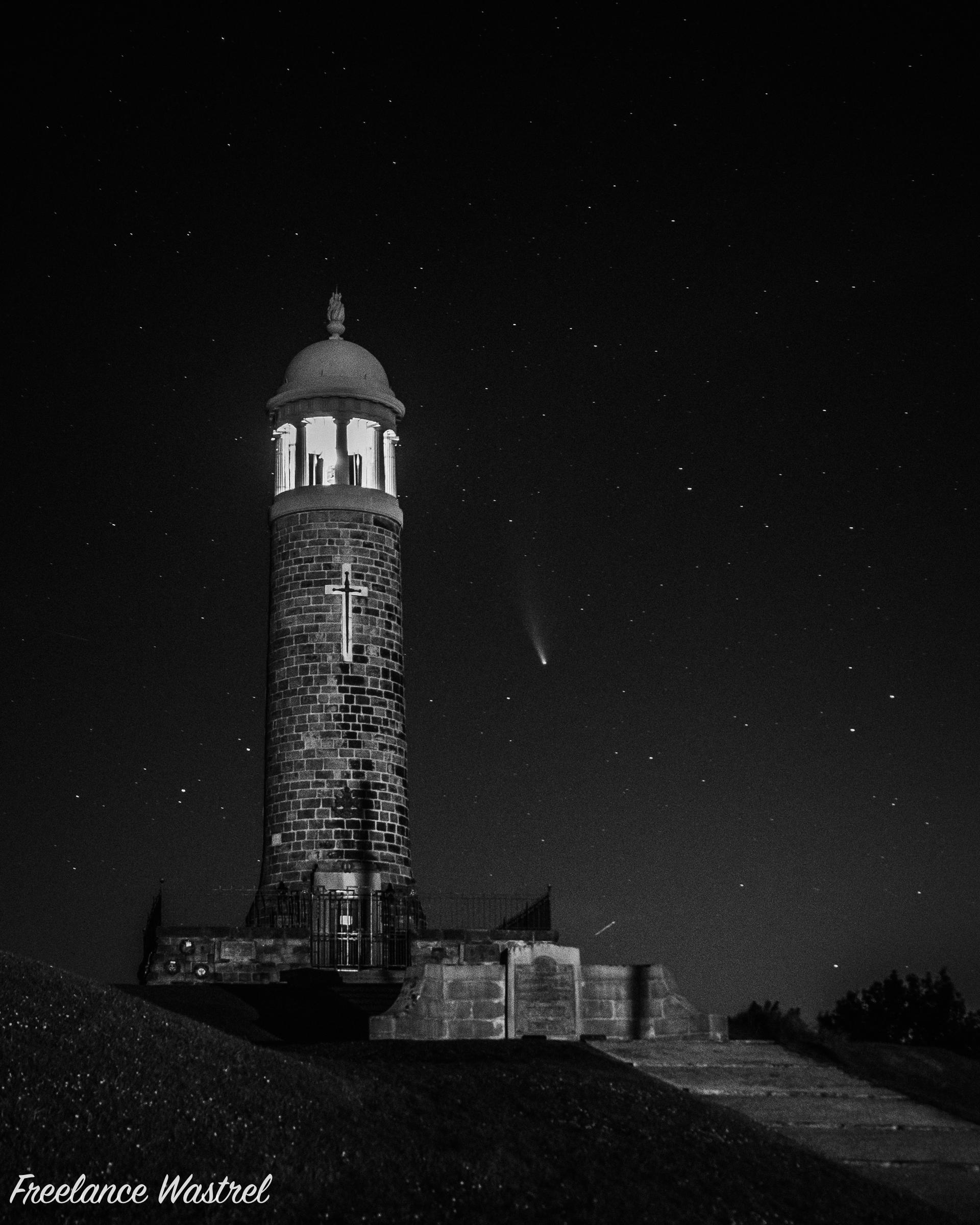 Comet C/2020 F3, July 2020