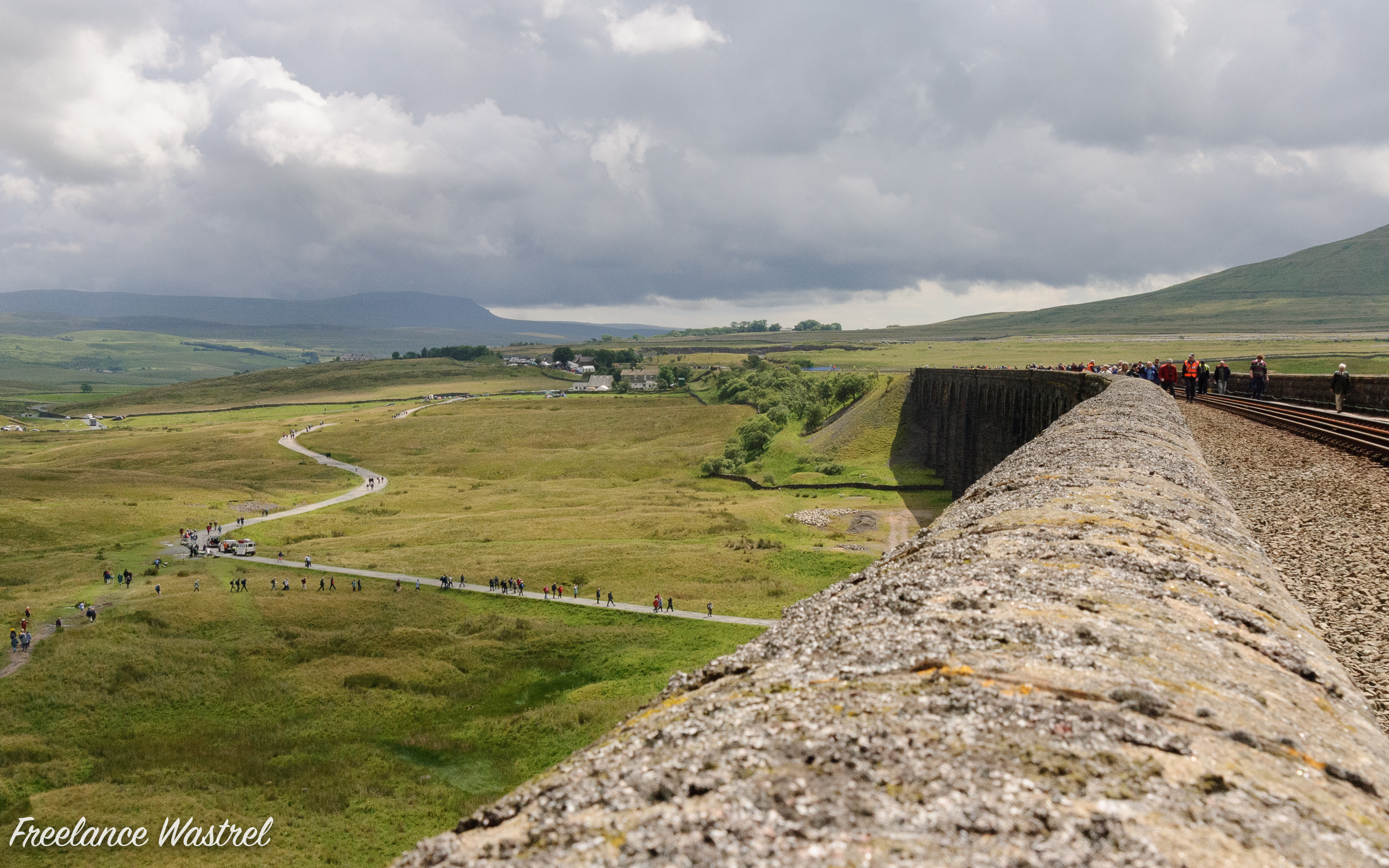 Batty Green from the Ribblehead Viaduct