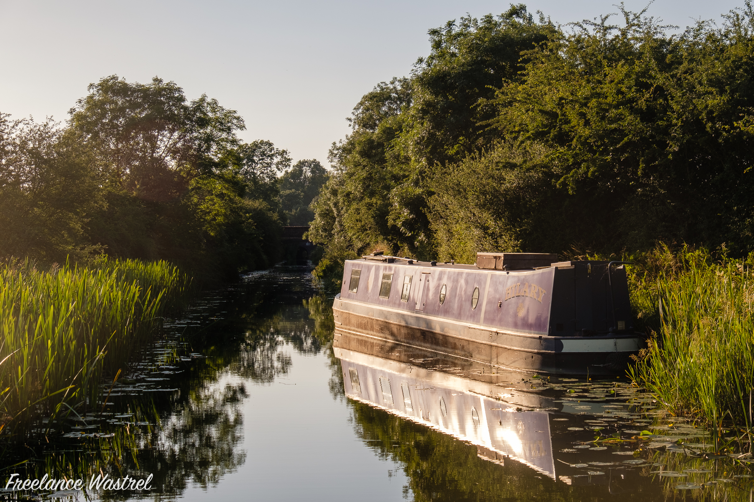 'HILARY' on the Grand Union Canal, July 2021