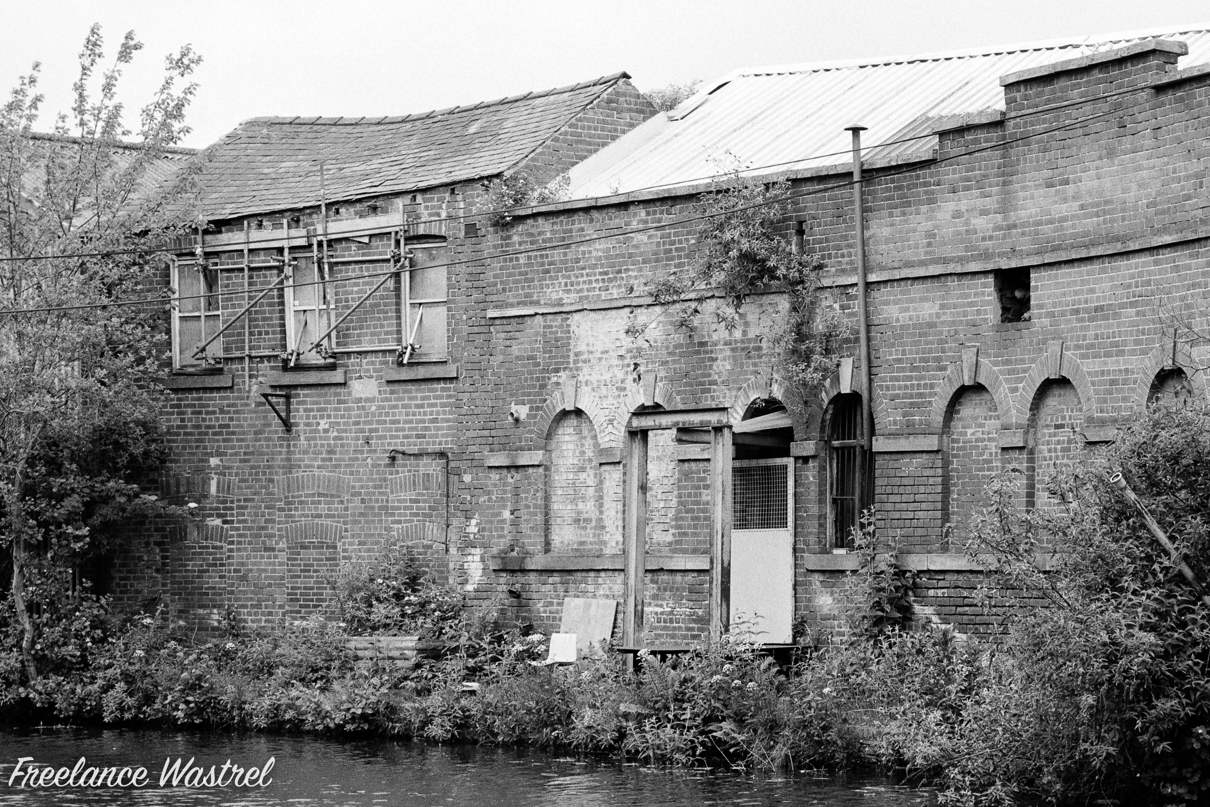 Canal-side decay, Attercliffe