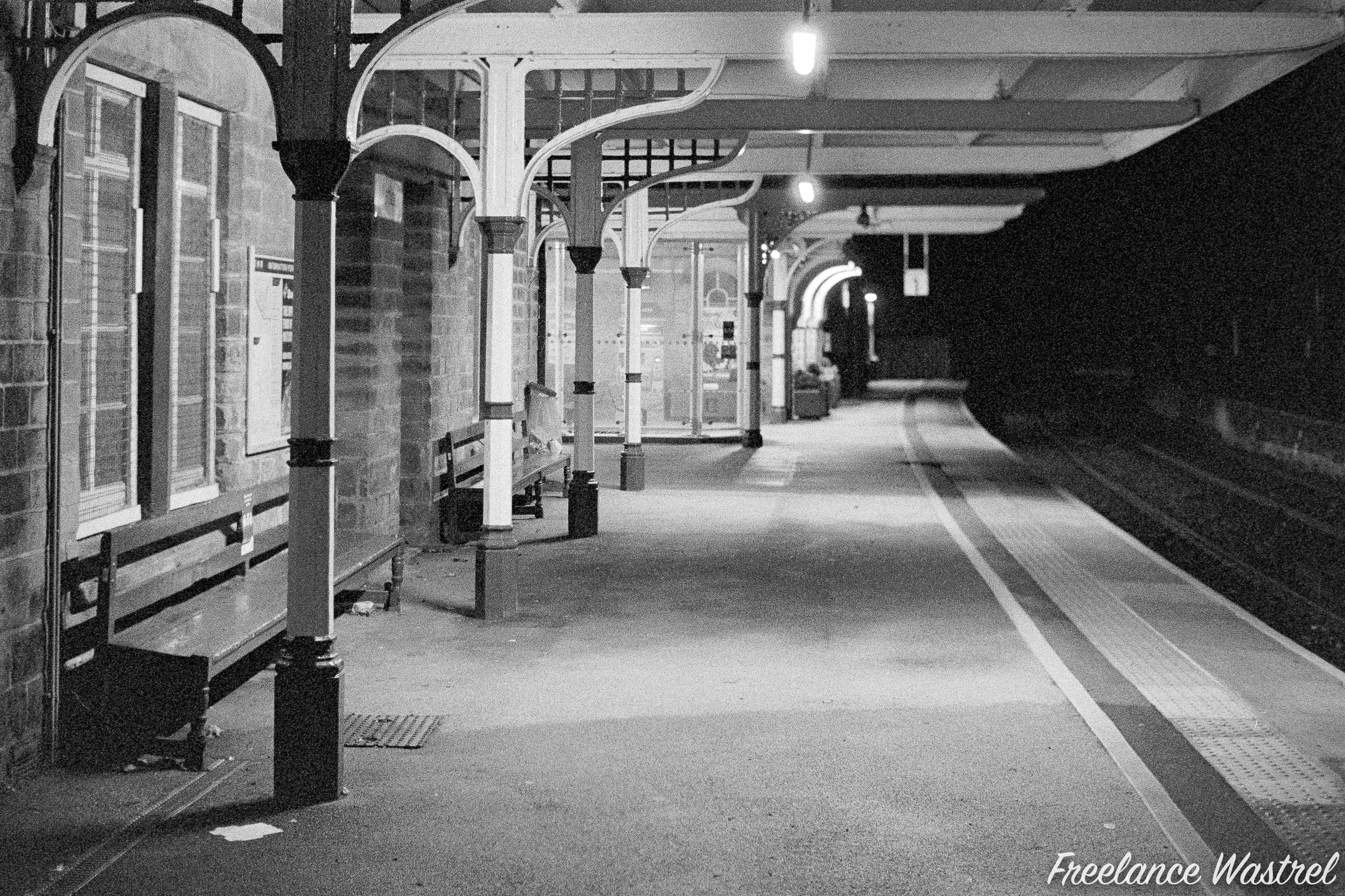 Waiting for the last train, November 2020