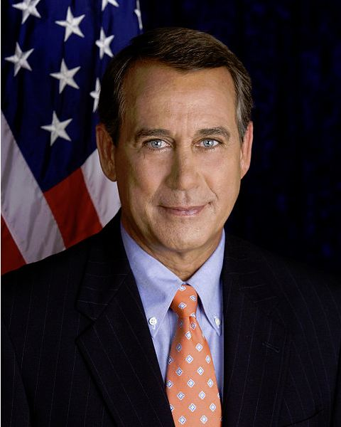 Speaker Boehner: Official Congressional Portrait