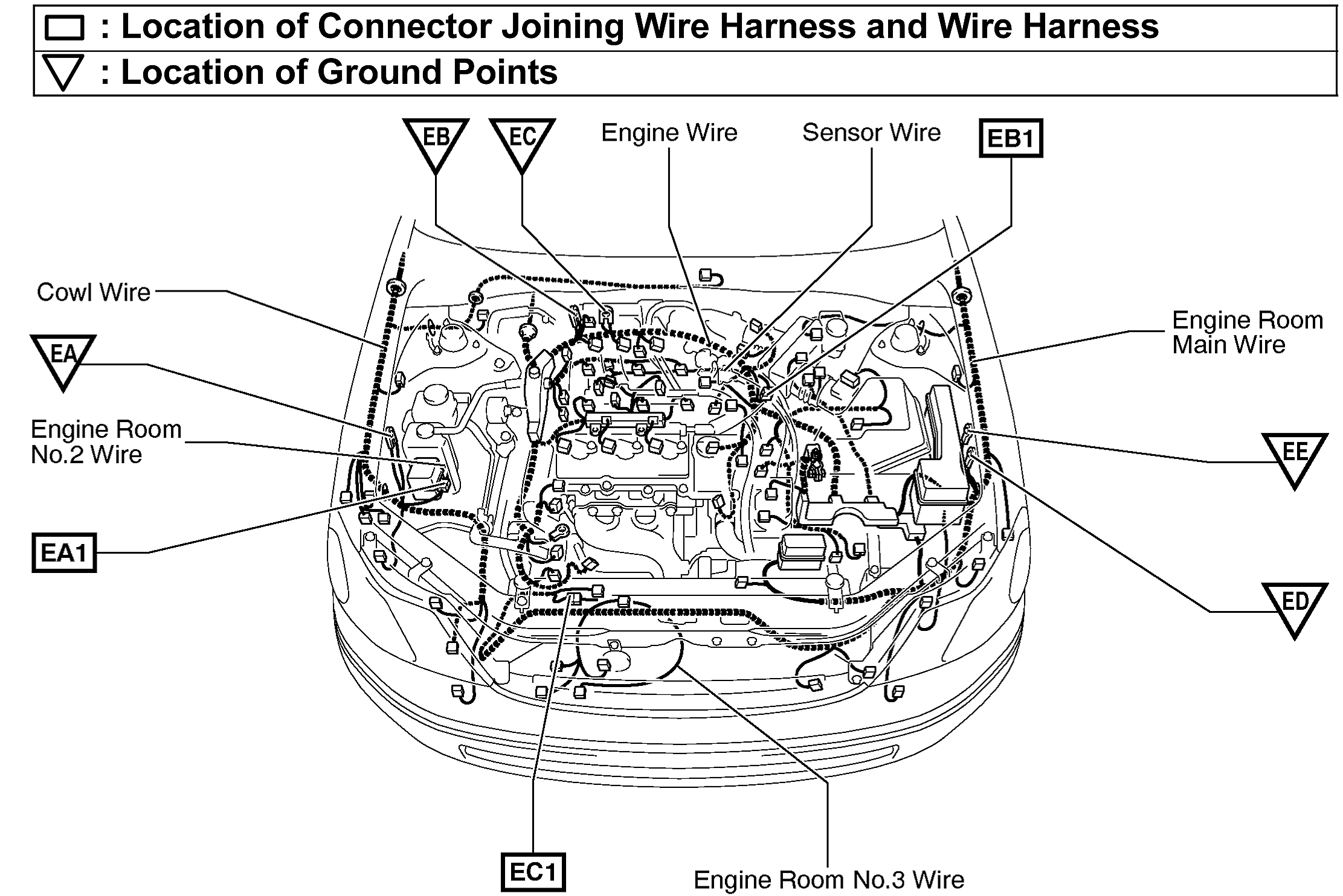 2001 Toyota Solara Engine Diagram