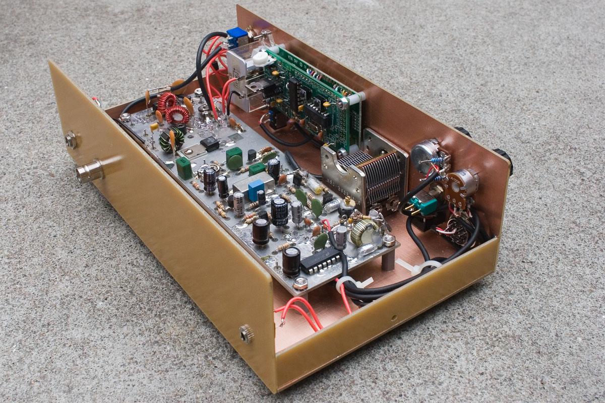 Courtesy Of F5vjd A Working G4jst G3wpo Dsb80 80m Dsb Transceiver Wa0uwh Electronics Ham Radio Blog Micro Fm Transmitter Few More Views