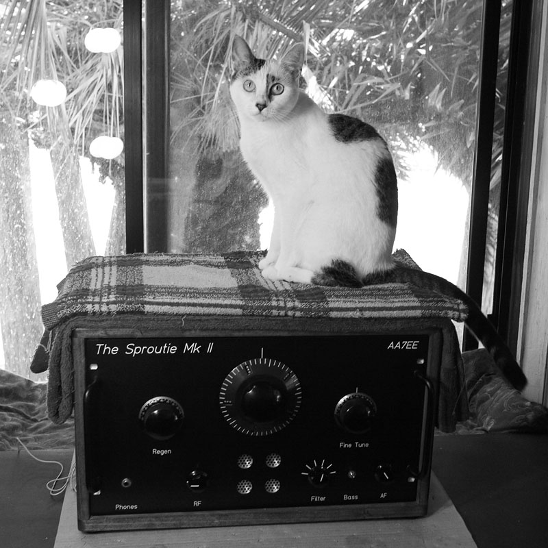 the sproutie mk ii hf regen receiver dave richards aa7ee sproutie aka sprat the qrp cat and the sproutie mk ii her contribution to the dial calibration of this receiver was carefully knocking the plug in coils