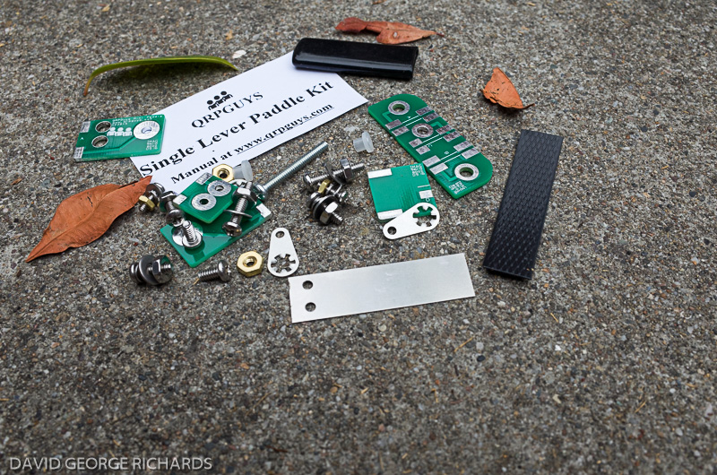 A Single Lever Paddle From QRP Guys – Dave Richards AA7EE