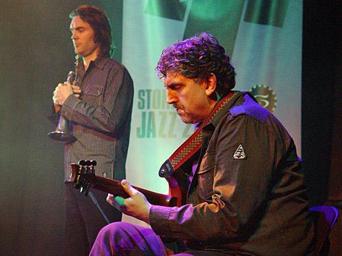 Paul Williamson and Geoff Hughes