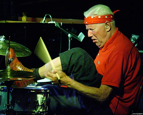 That mad drummer again