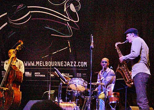 Reuben Rogers, Eric Harland and Jamie Oehlers