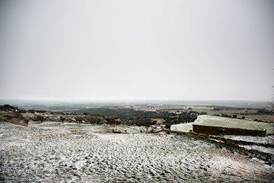 Nuestra casa, nevada.
