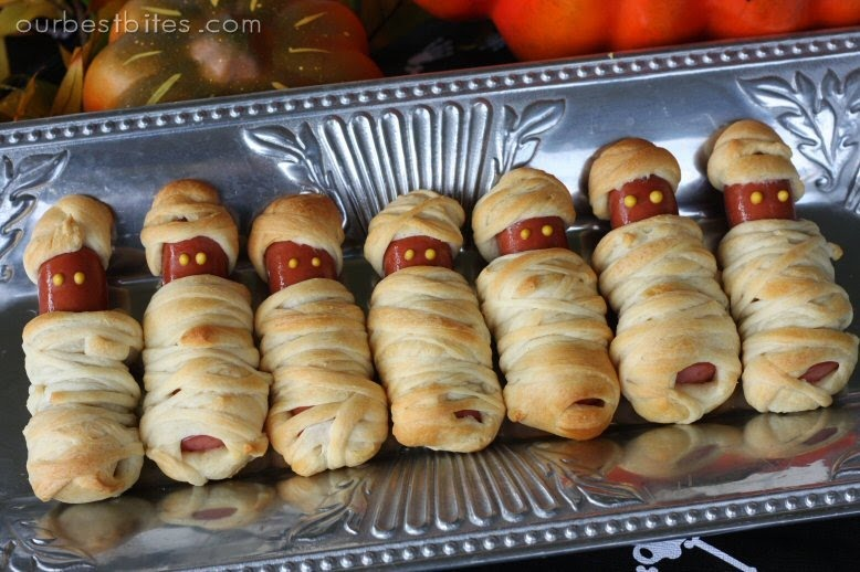 Image result for hot dog mummies