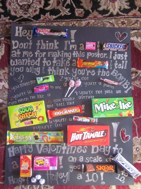 GIFTS For The GUYS And FROM The GUYS On Pinterest Candy