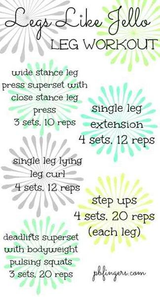 Legs Like Jello Workout