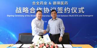 WuXi and Antengene ink development and manufacturing agreement