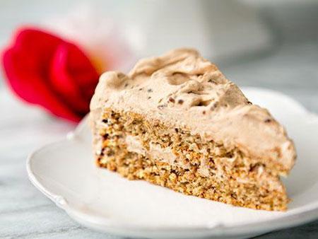 Walnut Mocha Torte