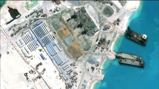 Image result for china militarize islands