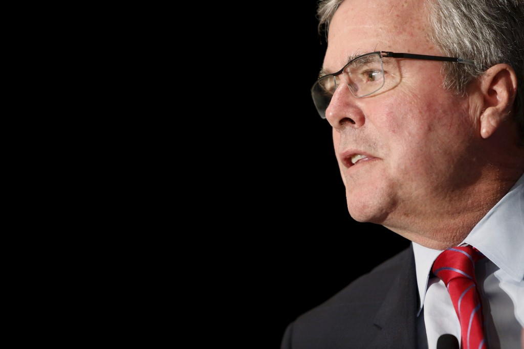 Former Florida Governor Jeb Bush earned millions of dollars as an adviser to more than 15 corporate and non-profit boards, the Associated Press reported. Photo by Jonathan Ernst/Reuters