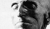 Death mask of Nikola Tesla