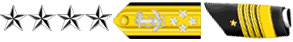 Insignias of Admiral