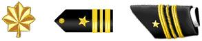 Insignias of Lieutenant Commander