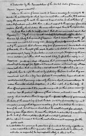 Rough draft of the Declaration Of Independence