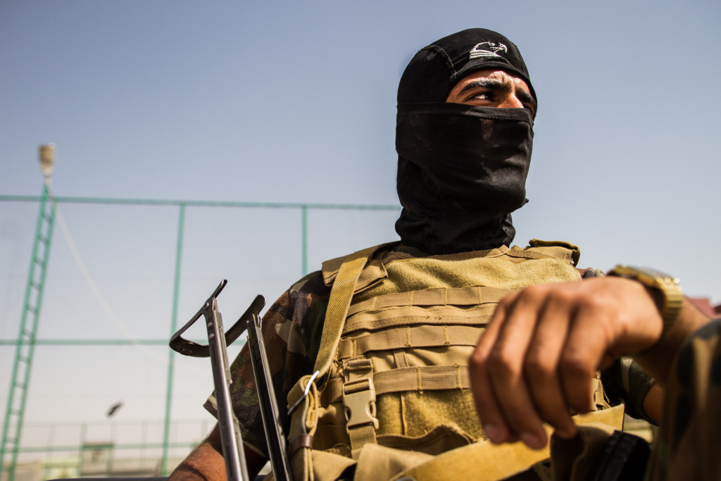 Inside a Camp for Iraqis Fleeing ISIS