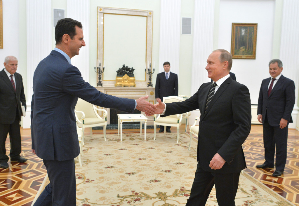Image result for assad putin