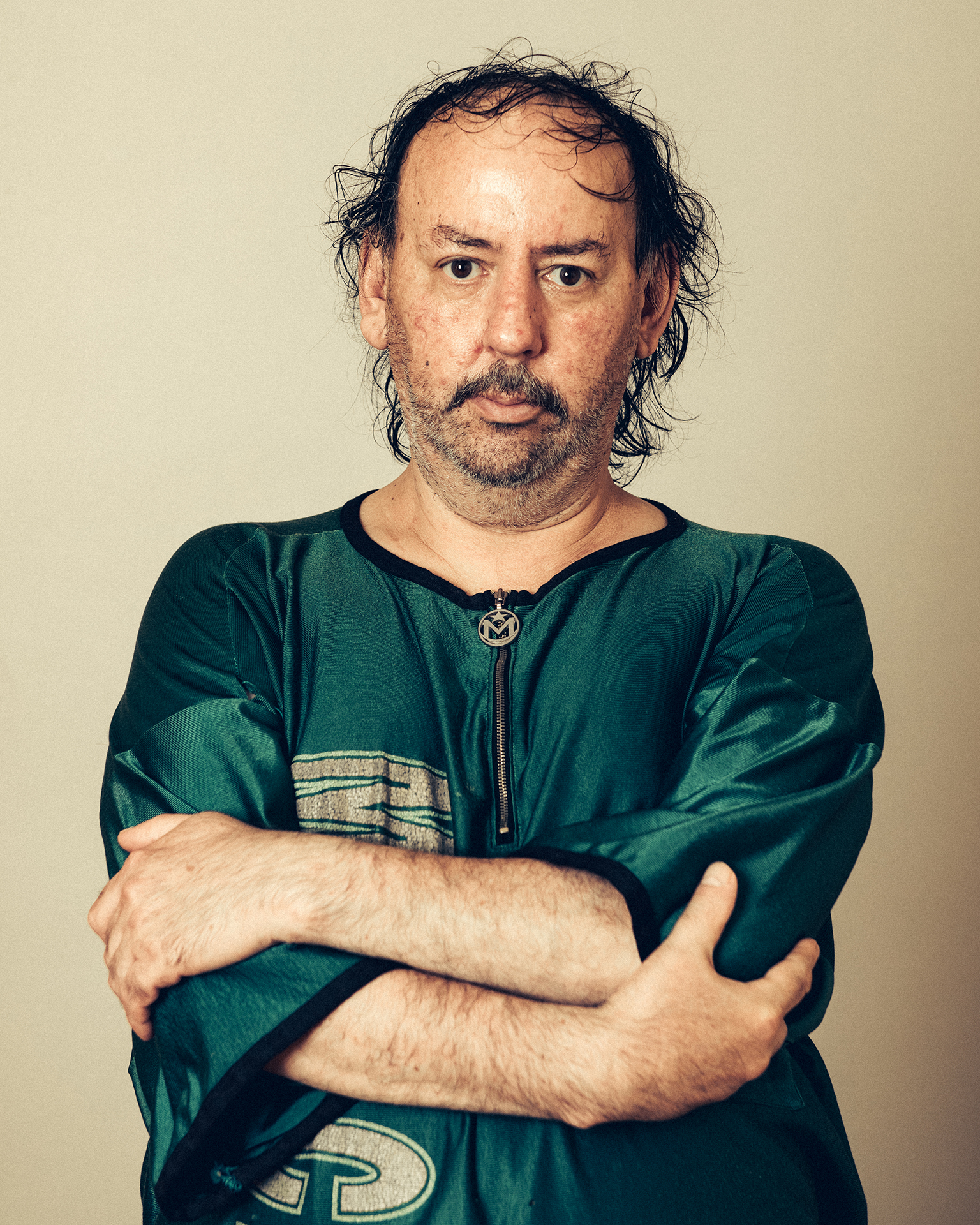 A portrait of Nestor Bunch at his apartment in Brooklyn on August 19, 2018.