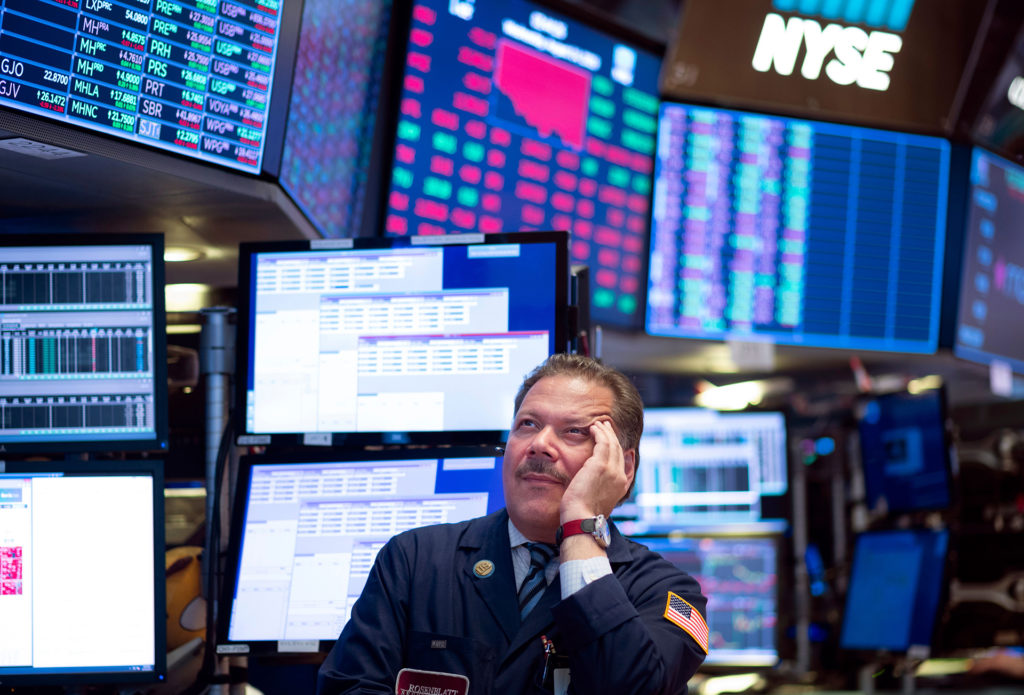 Stocks plummeted on August 14, 2019 amid worsening economic fears after U.S. Treasury yields briefly inverted, flashing a warning sign for a coming recession.