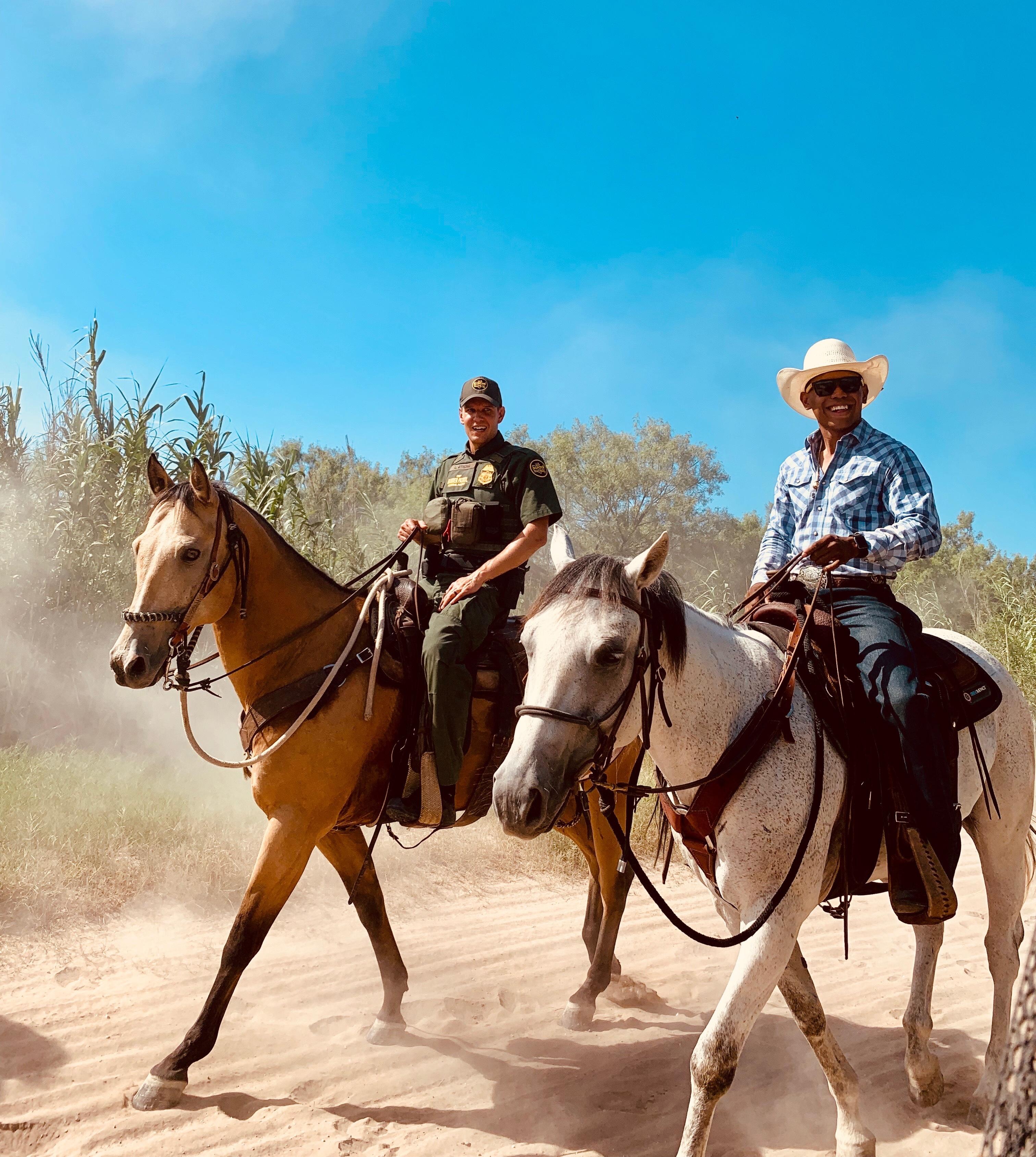 USBP Keyshawn Horse Agent Laredo